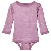 Joha Long Sleeve Baby Body Purple 60 cm (2-4 mnd)