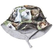 Molo Nomly Baby Hat Hairy Animals 6-12 mnd