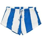 Noe & Zoe Berlin Blue Striped Sweat Shorts 8 years
