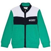 Franklin & Marshall Green Colorblock Sweater 8-9 years