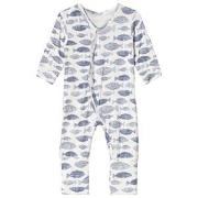 Hust&Claire One-Piece Blue Tint 50 cm (0-1 mnd)