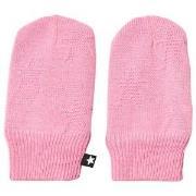 Molo Snowflake Mittens Total Pink 3-6 mnd