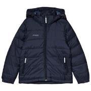 Bergans Navy Rena Down Youth Windbreaker Jacket 128 cm (7-8 år)