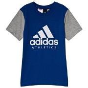 adidas Performance Blue Branded T-Shirt 9-10 years (140 cm)