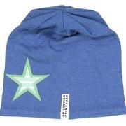 Geggamoja Star Beanie Marine Blue 62 cm
