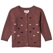Noa Noa Miniature Cardigan Long Sleeve Winter Rose 3M