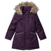 Hummel Stinna Winter Coat Blackberry Cordial 104 cm (3-4 år)