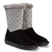 Michael Kors lack and Silver Margo Lin Boots 29 (UK 11)