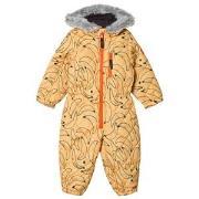 Indikidual Orange Banana Snow Suit 0-12 months