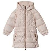 Carrément Beau Pale Pink Hooded Coat 2 years